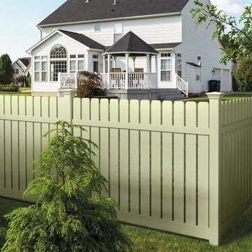 39 Best Images About Vinyl Fencing Ideas On Pinterest
