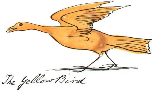 Edward Lear: The Yellow Bird