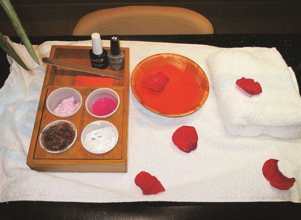 Signature Services: Signature Herbal Spa Manicure - Technique - NAILS Magazine