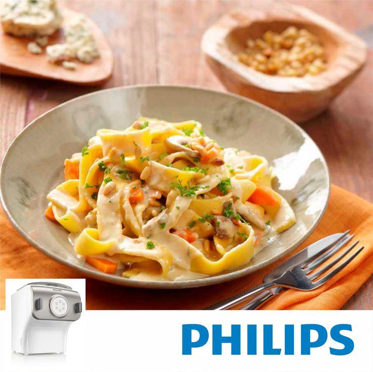 #Philips #HR2355, Maquina para hacer pasta y fideos. #comidacasera #pastacasera #RECETA #Pasta de zanahoria y cuatro quesos