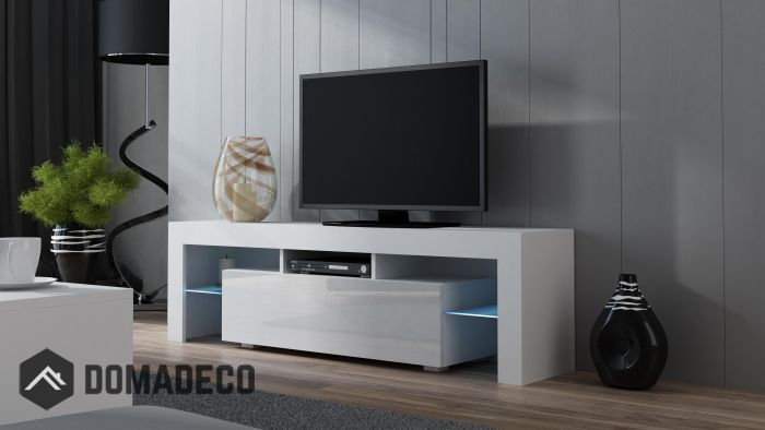 Milano 160 White Modern Tv Cabinet Modern Tv Stand Living Rooms Living Room Tv Stand Modern Tv Units