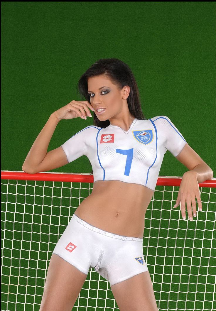 Can Nude soccer girls paint poland