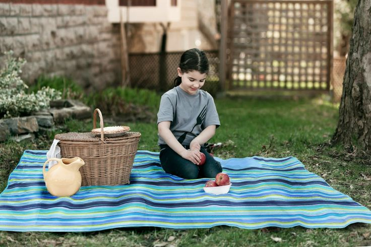 "Beach Mat, Picnic Mat, Camping Mat, All Purpose Mat - Use the Waterproof Mat, Large Mat is 57""x80"". MULTI PURPOSE: Perfect for any occasion. Ideal for picnics, beach, camping, festivals, sports event gardens or even inside the home. CARRY IN STYLE - Extra large but compact. Comfortably sits a family of four. Occupy your personal space with this 57""x79"" mat when opened out. Folds to a compact 10""x14"". WATERPROOF LAYER - Helps to stop water or any liquid seeping up or going onto the…"