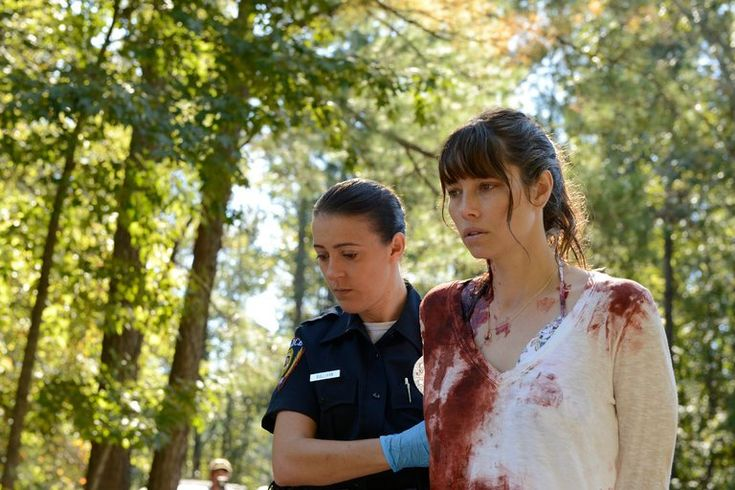 This USA mini-series starts with a murder in front of a crowd of witnesses and works its way back toward a motive.