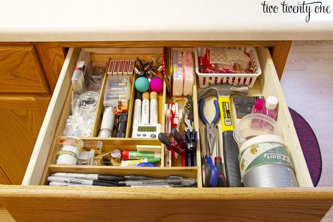 Everyone has one. Well, I assume everyone has one. A junk drawer. Where the miscellaneous and random items in one s home ends up. Ours has always been a hot mess, like an episode of hoarders hot mess-- minus the dead cats and decades-old newspa...