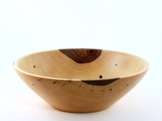 We have tons of rustic wooden bowls and candlesticks!  Home Decor Gift Guide | | Blissfully DomesticBlissfully Domestic