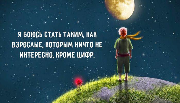 Мудрые и глубокие цитаты из «Маленького принца» – Фитнес для мозга