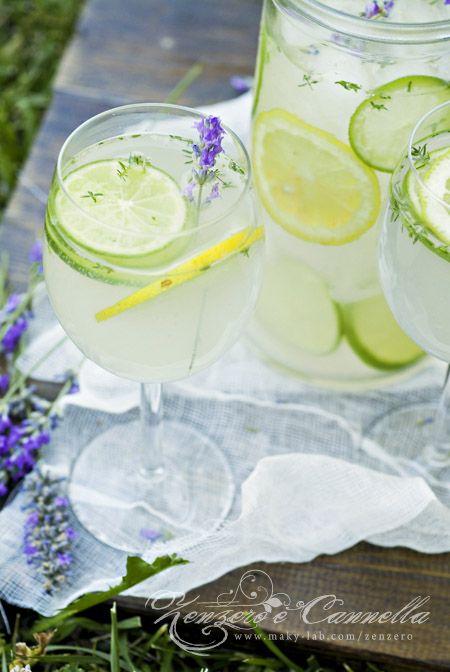 Thyme and Lavander Lemonade