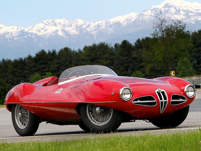'52 Alfa Romeo C52 'Disco Volante' touring spider