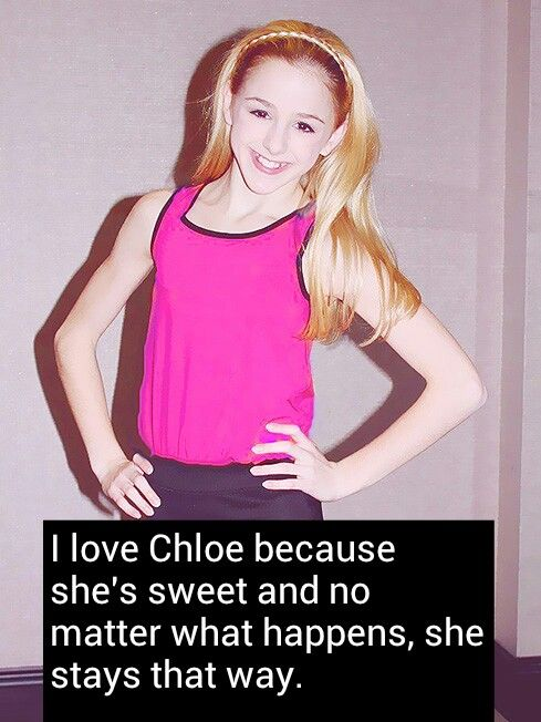 17 best images about chloe lukasiak on pinterest so - Dance moms confessions ...