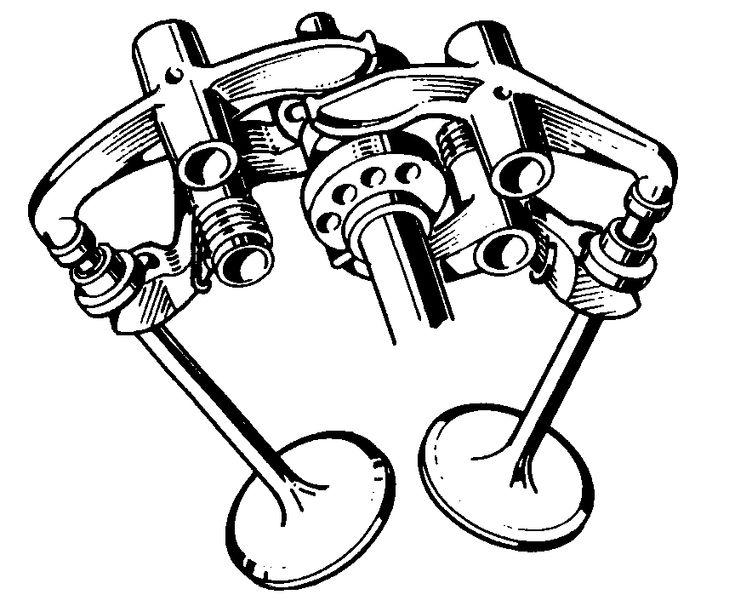 Desmo! No valve springs!