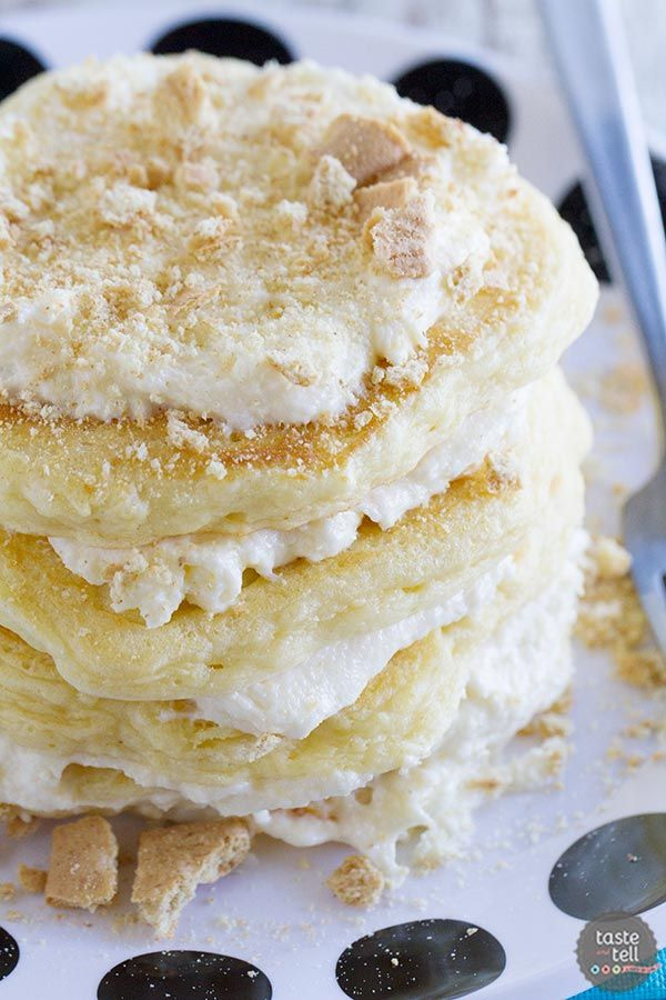Cheesecake Pancakes plus a review of Stack Happy