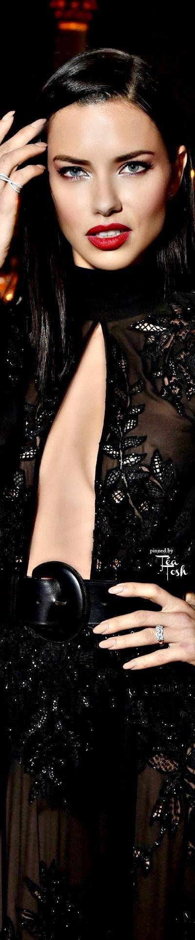 ❇Téa Tosh❇ Adriana Lima at amfAR New York Gala Red Carpet