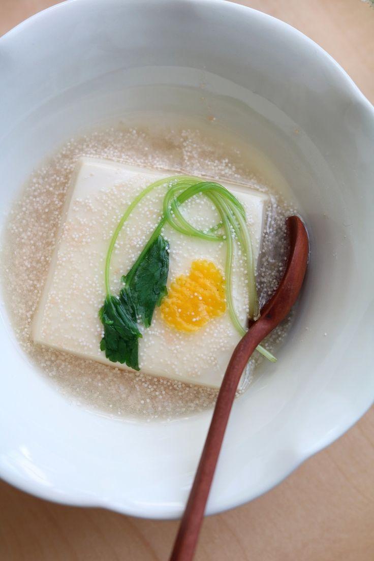 豆腐のたらこあんかけ。 by 栁川かおり | レシピサイト「Nadia | ナディア」プロの料理を無料で検索