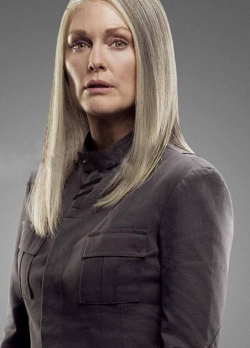 Julianne Moore as President Coin. The Hunger Games ...