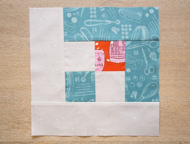 Snowflake Quilt Block Instructions