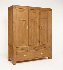 Solid Oak Wardrobes | Painted & Walnut Wardrobes | Free Delivery