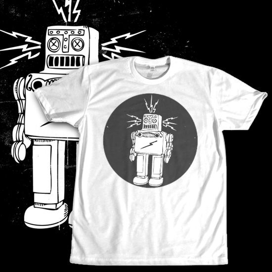 Roboto Circle dari Tees.co.id oleh Peanut Dog
