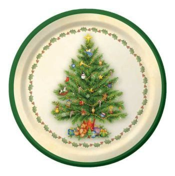 Spendid Tree Christmas 7-inch Paper Plates 8 Per Pack by Creative Converting. $2.99. Manufactured to the Highest Quality Available.. Design is stylish and innovative. Satisfaction Ensured.. Creative Converting is a leading manufacturer and distributor of disposable tableware including high-fashion paper napkins plates cups and tablecovers in a variety of solid colors and designs appropriate for virtually any event