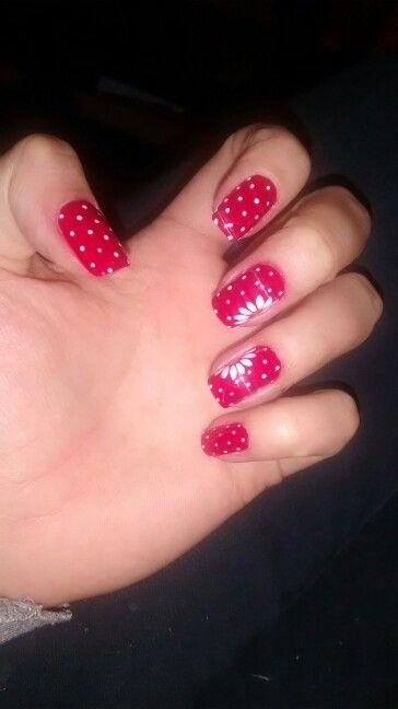 #Red #NailArt