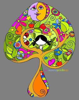 and even fanciful-er....Aprender es una aventura: El árbol de la sabiduría