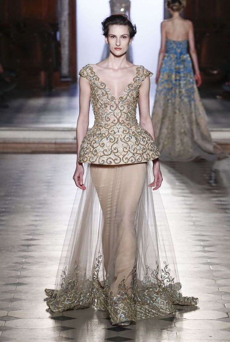 Best Zuhair Murad Images On Pinterest Spring Couture