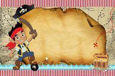 Kits Imprimibles Piquilin: Kit Imprimible Jake y Los Piratas GRATIS