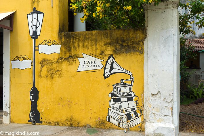 Art café pondicherry
