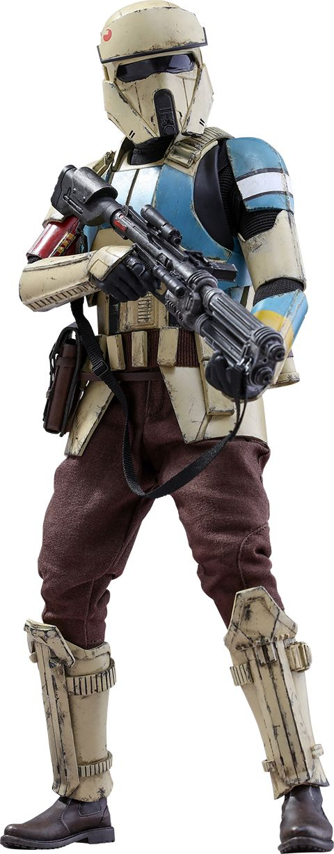 Star Wars Hot Toys Figure Offers Great Look at Rogue One's New Shoretrooper - IGN