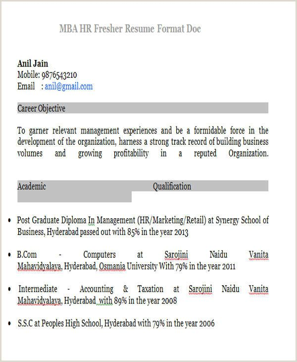 Bba Fresher Resume Format Doc Myoscommercetemplates Com Resume Format Resume Format In Word Best Resume Format