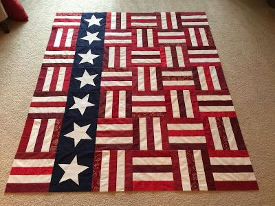 Suzy's Quilting Room: Quilt of Valor Top