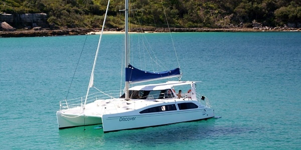 Strengthen your team sprit - private yacht cruise on Jervise Bay, and come back to Paperbark for the all important debrief (or dinner!)