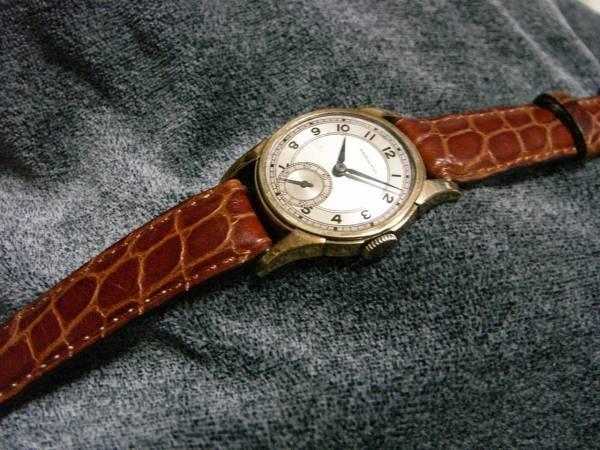 手巻きアンティーク腕時計ハミルトン40年代3針HAMILTON Watch hamilton ¥42000円 〆03月24日