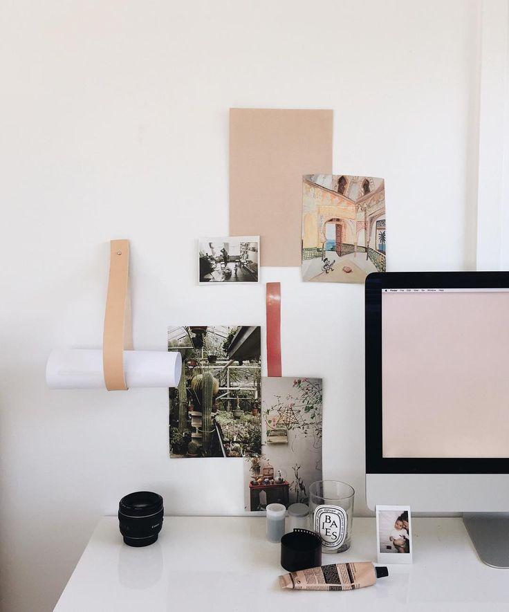 Our Leather Hanger (in Natural) / by Mathilda Clahr / Online now: http://thedepotandco.com.au/shop/brands/mathilda-clahr-strap-hanger/