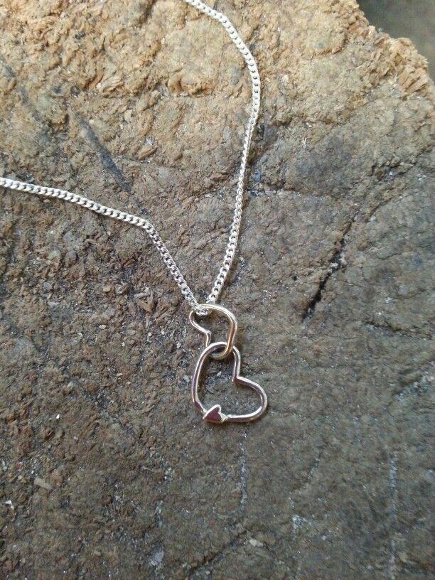 Hjärtan i silver