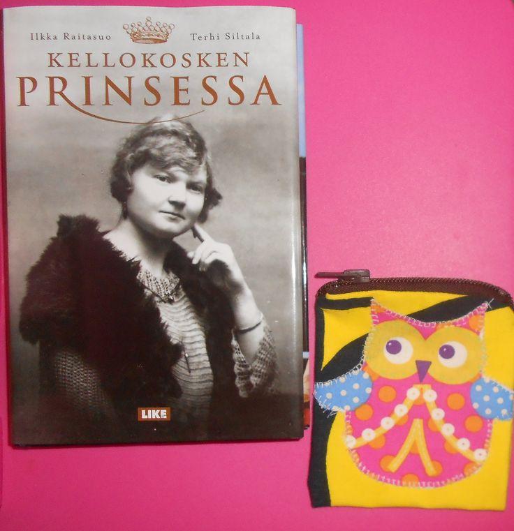 pöllökukkaro ja kirja Kellokosken prinsessa