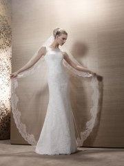 Suknia ślubna Pronuptia Veronne, kolor ivory i biel