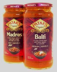 Pataks Original Indian Curry Sauces In A Jar 500g