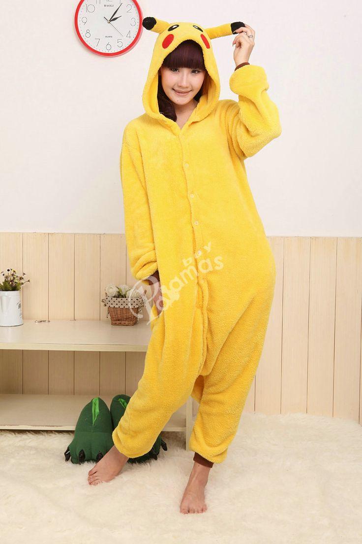 PajamasBuy - Onesies Hoodie Pikachu Pajamas Animal Costume Kigurumi Pyjama , $20.50 (http://www.pajamasbuy.com/onesies-hoodie-pikachu-pajamas-animal-costume-kigurumi-pyjama/)