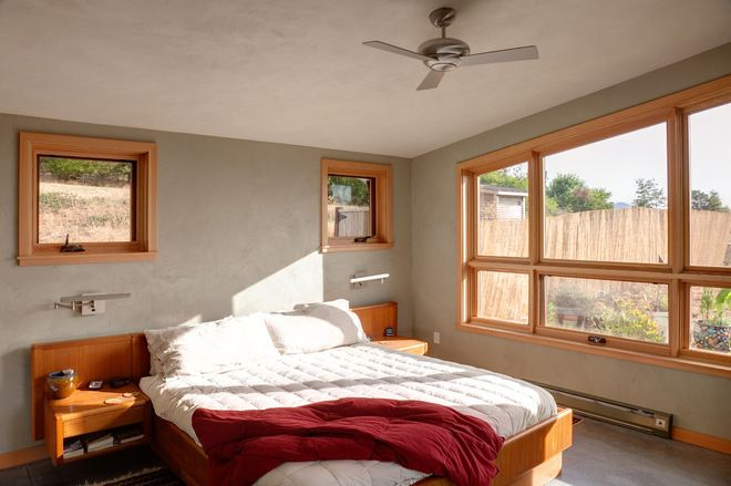 gray walls with wood trim | Wall color with wood trim