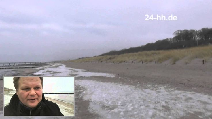 Балтийское море зимой, побережье Германии