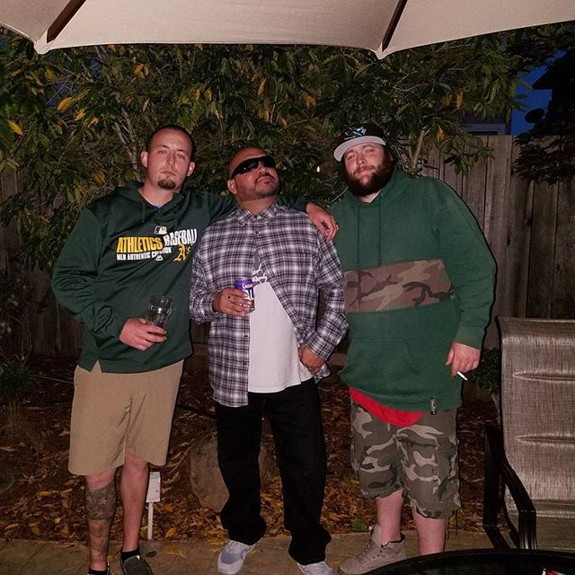 Saturday shenanigans.   #funtimes #friends #birthdayparty. #livinglife #lovinglife #beers #bongs & #cornhole #707 #shenanigans #grateful #californialivin #friendship #cholo #bayarea