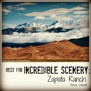 Best for Incredible Scenery: Zapata Ranch. Best Family Dude Ranch Vacations on @Trekaroo @zapataranch