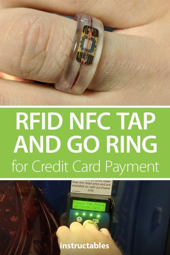 RFID NFC Tap and Go Ring for Credit Card Payment
