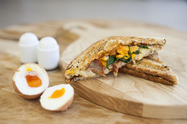 Put some spring into your step with the Wakey Wakey jaffle.