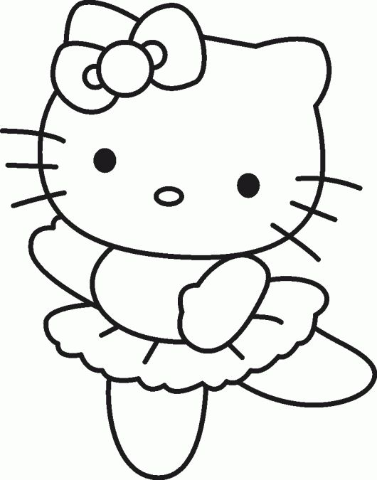 13 best Hello Kitty color page images on Pinterest Drawings, Hello - new coloring pages with hello kitty