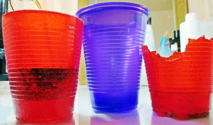Making Edible Jello Cups With Recipe