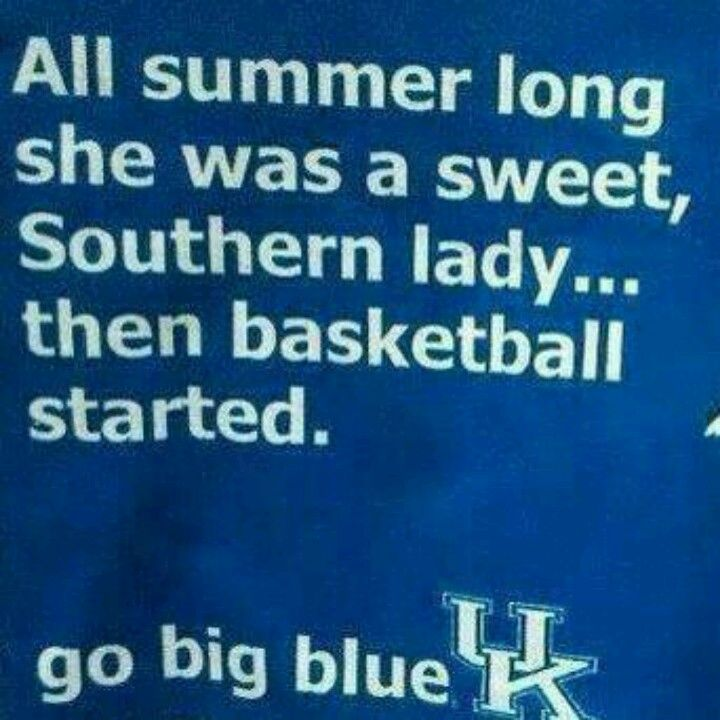 Borrowed: This would be me!! Love my UK Wildcats no matter what!!