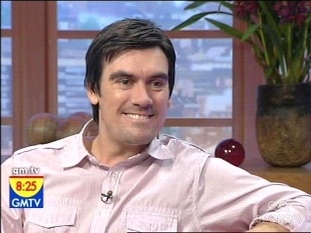 """GMTV, ITV1 Actor Jeff Hordley is guest on the show, talking about his time with the soap """"Emmerdale"""" which he now has left. He is concentrating on his children but also does a few radio shows. England 10.11.06 Supplied by WENN (WENN does not claim any Copyright or License in the attached material. Any downloading fees charged by WENN are for WENN's services only, and do not, nor are they intended to, convey t..."""