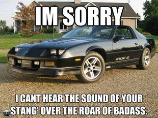 Mustang vs Camaro Memes | Mustang Vs. Camaro Meme's